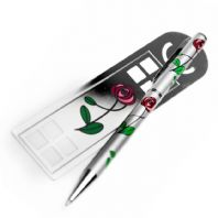 Rennie Mackintosh Pen & Bookmark Set (2)